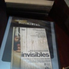 Cine: INVISIBLES. CINE DOCUMENTAL. C15DVD. Lote 56378701