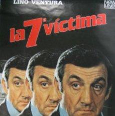 Cine: PÓSTER LA SÉPTIMA VICTIMA. Lote 56379685