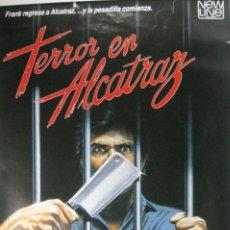 Cine: PÓSTER TERROR EN ALCATRAZ. Lote 56379953