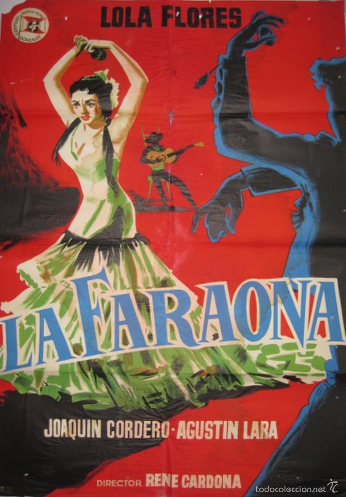 CARTEL LA FARAONA (Cine - Posters y Carteles - Clasico Español)