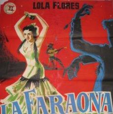 Cine: CARTEL LA FARAONA. Lote 56380311