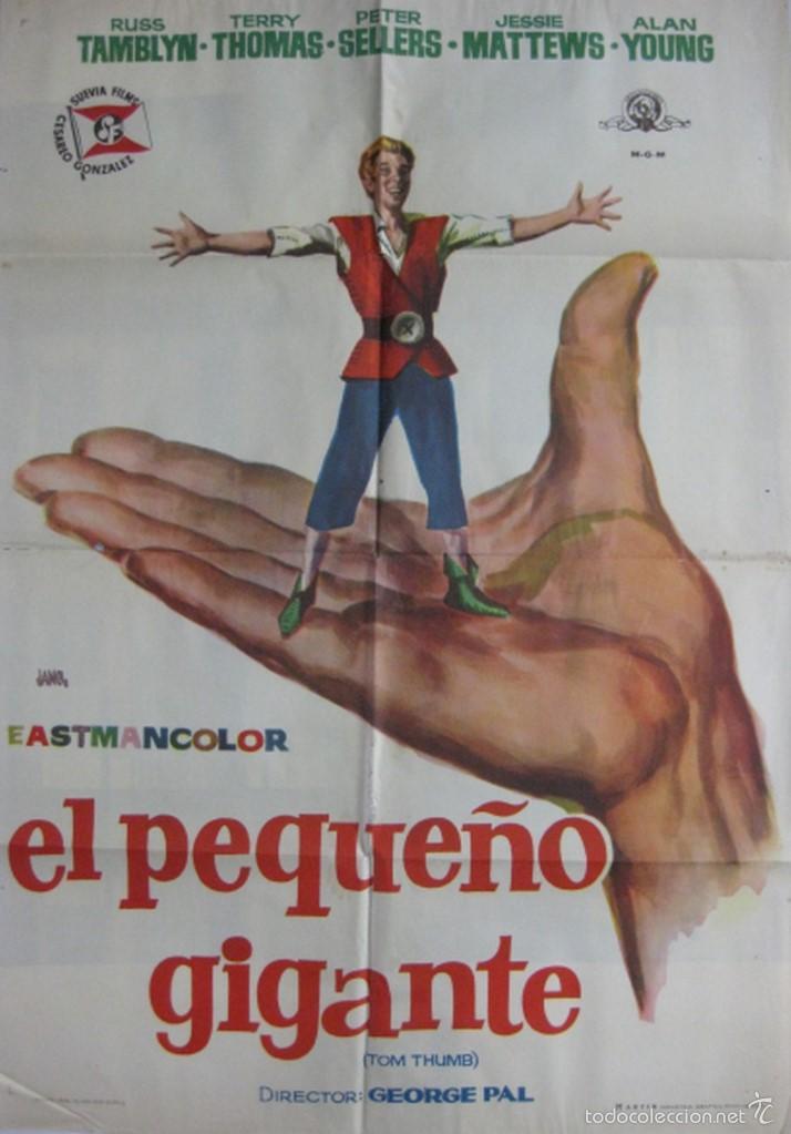 CARTEL EL PEQUEÑO GIGANTE (Cine - Posters y Carteles - Ciencia Ficción)