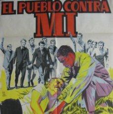 Cine: CARTEL EL PUEBLO CONTRA MI. Lote 56390106