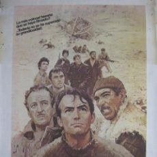 Cine: CARTEL LOS CAÑONES DE NAVARONE. Lote 56381024