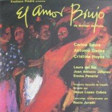 Cine: CARTEL EL AMOR BRUJO. Lote 56381055