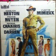 Cine: EL SEÑOR DE HAWAI 1963. Lote 56461466