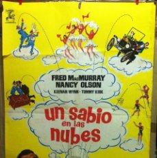 Cine: UN SABIO EN LAS NUBES - WALT DISNEY-. Lote 56461563