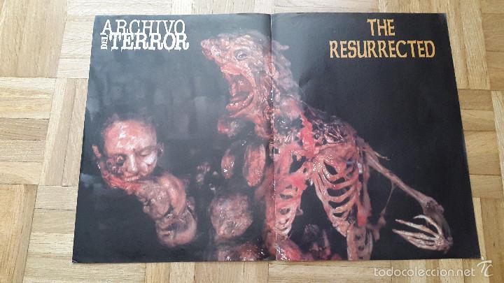 POSTER TERROR - THE RESURRECTED (Cine - Posters y Carteles - Terror)