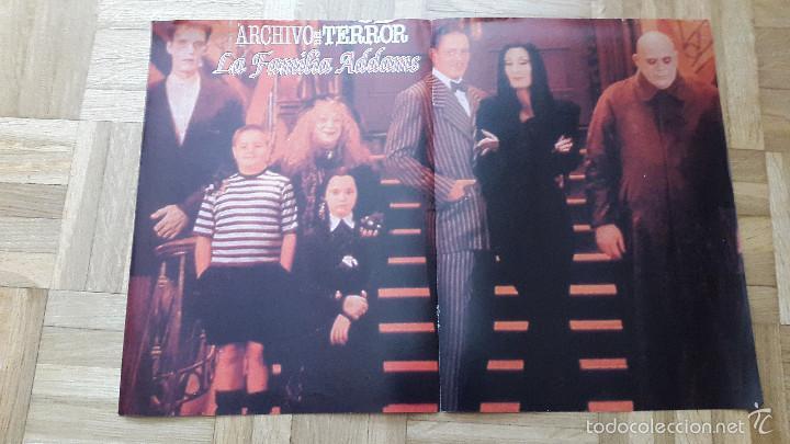 POSTER LA FAMILIA ADAMS (Cine - Posters y Carteles - Terror)