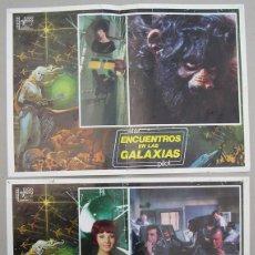 """Cinéma: """"ENCUENTRO EN LAS GALAXIAS"""" CARTELES DE CINE ORIGINALES DE EPOCA. Lote 56553570"""