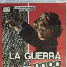 Cine: ANTIGUO CARTEL DE CINE 70 X 100 CM. LA GUERRA DE PAPÁ - 1977. Lote 56563947