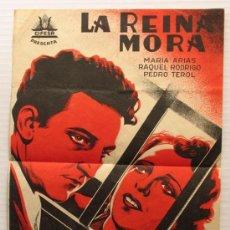 CARTEL DE CINE PELICULA : LA REINA MORA. CIFESA. LIT. AVIÑÓ. VALENCIA. 1936 ORIGINAL