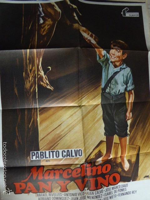 MARCELINO PAN Y VINO. CARTEL DE CINE- MOVIE POSTER (Cine - Posters y Carteles - Clasico Español)