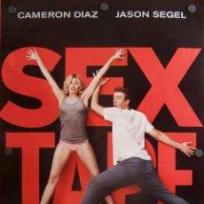 Cine: SEX TAPE (CARTEL DEL FILM COMEDIA ). Lote 56639916