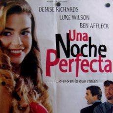 Cine: UNA NOCHE PERFECTA (PELÍCULA COMEDIA, SU CARTEL). Lote 56640627