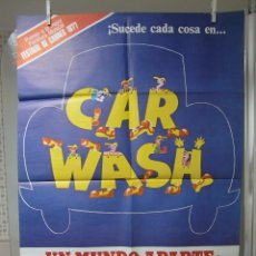 Cine: CARTEL CINE ORIG CAR WASH (UN MUNDO APARTE) (1976) / 70X100 / OTIS DAY / RICHARD PRYOR. Lote 56641901