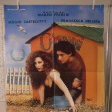 Cine: CARTEL CINE ORIG LA CARNE (1991) / 70X100 / FRANCESCA DELLERA. Lote 56663399