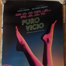 Cine: PURO VICIO - APROX 70X100 CARTEL ORIGINAL CINE (L26). Lote 115630120