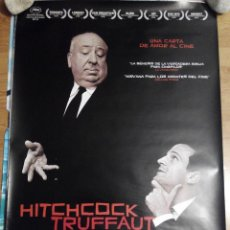 Cine: HITCHCOCK/TRUFFAUT - APROX 70X100 CARTEL ORIGINAL CINE (L26). Lote 56705286