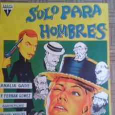 Cine: SOLO PARA HOMBRES. POSTER ESTRENO 70X100. ANALÍA GADÉ, FERNANDO FERNÁN-GÓMEZ. LITOGRAFÍA. Lote 56753714
