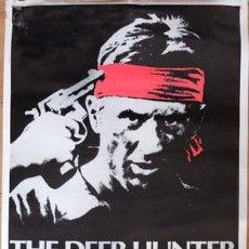 Cine: POSTER 70X90 THE DEER HUNTER, ACTOR ROBERT DE NIRO, SIN DOBLAR,. Lote 56915184