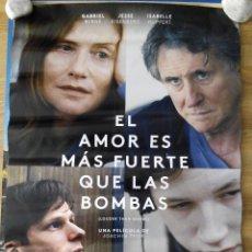 Cine: EL AMOR ES MAS FUERTE QUE LAS BOMBAS - APROX 70X100 CARTEL ORIGINAL CINE (L27). Lote 56926348