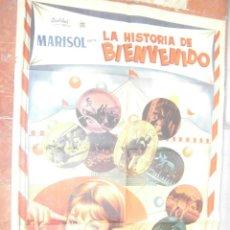 Cine: MARISOL CARTEL MEXICANO DEL FILM LA HISTORIA DE BIENVENIDO 70 X 95 CTMS.. Lote 56965388