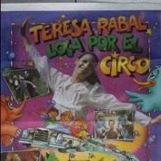 Cine: ANTIGUO CARTEL DE CINE 70 X 100 CM. LOCA POR EL CIRCO - 1982. Lote 56991276