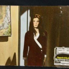 Cine: CARTELERA CINE LOBBY CARD LLEGARÁ EL DÍA DE LOS LIMONES NEGROS BAZZONI BOLKAN SABATO 39X29CMS. Lote 57092607