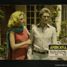 Cine: CARTELERA CINE LOBBY CARD AMBICIOSA RABAL BODALO ZARZO 39X29CMS. Lote 57092737