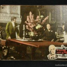Cine: CARTELERA CINE LOBBY CARD EL ASESINO ESTA AL TELEFONO MARTINO HEYWOOD SAVALAS 39X29CMS. Lote 57092954