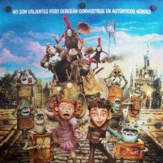 Cine: LOS BOXTROLLS (PELÍCULA ANIMACIÓN). Lote 57110066