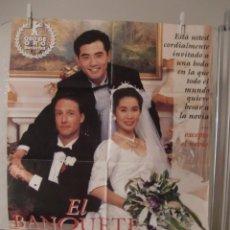Cine: CARTEL CINE ORIG EL BANQUETE DE BODA (1993) / 60X85 / ANG LEE. Lote 57137426