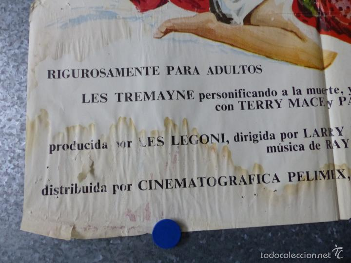 Cine: LOTE 15 CARTELES DE CINE VARIOS, VER DESCRIPCION Y FOTOS - Foto 35 - 57179909