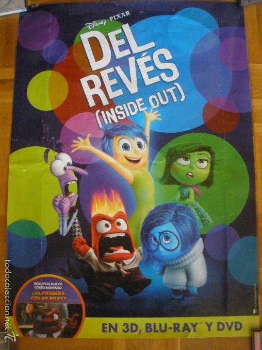 DEL REVES (INSIDE OUT) POSTER (Cine - Posters y Carteles - Acción)