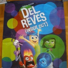 Cine: DEL REVES (INSIDE OUT) POSTER. Lote 57217274