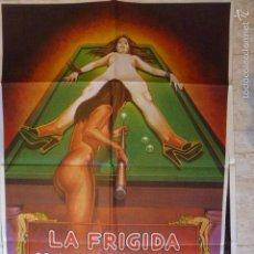 Cine: LA FRIGIDA Y LA VICIOSA. CARTEL DE CINE-MOVIE POSTER. Lote 205254327