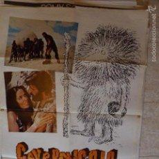 Cine: CAVERNICOLA. CARTEL DE CINE - MOVIE POSTER. Lote 57299465