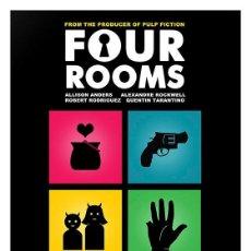 Cine: FOUR ROOMS. TARANTINO. RODRIGUEZ. LÁMINA CARTEL 45 X 32 CMS.. Lote 57302004