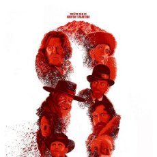 Cine: THE HATEFUL EIGHT. LOS ODIOSOS OCHO. LÁMINA CARTEL 45 X 32 CMS.. Lote 57330863