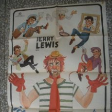 Cine: JERRY LEWIS POSTER ORIGINAL DE 100X70CM. Lote 57406456