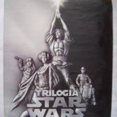 Cine: STAR WARS. TRILOGÍA. DE VIDEO. POSTER.. Lote 57410819