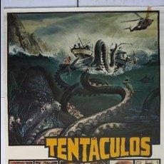 Cine: ANTIGUO Y ORIGINAL CARTEL DE CINE 70 X 100 CM. TENTÁCULOS - 1977. Lote 57497913