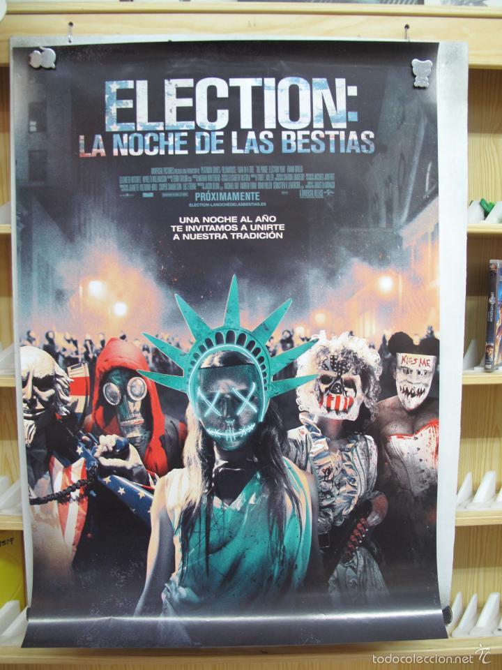 ELECTION LA NOCHE DE LAS BESTIAS (Cine - Posters y Carteles - Aventura)