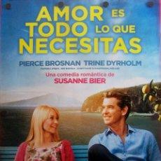 Cine: AMOR ES TODO LO QUE NECESITAS (FILM COMEDIA). Lote 57505910