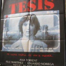 Cine: TESIS DE ALEJANDRO AMENABAR. ANA TORRENS FELE MARTINEZ EDUARDIO NORIEGA. JOSE LUIS CUERDA- 2012. Lote 57507272