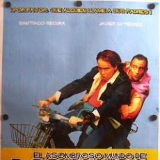 Cine: EL ASOMBROSO MUNDO DE BORJA MARI Y POCHOLO. Lote 57507643