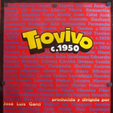 Cine: TIOVIVO (CARTEL DE LA PELÍCULA). Lote 57510142