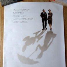 Cinéma: AL ENCUENTRO DE MR BANKS SAVING MR BANKS TOM HANKS EMMA THOMPSON DISNEY 100X70CM. Lote 57561335