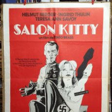 Cine: CARTEL CINE, SALON KITTY, HELMUT BERGER, INGRID THULIN, 1978. Lote 57570157